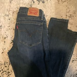 Levi's Super Skinny Ankle Jeans